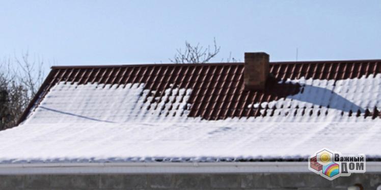 Протечка крыш после чистки снега